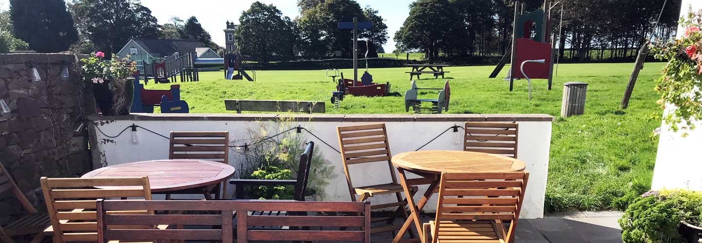 Great for families - our garden is by the village play park
